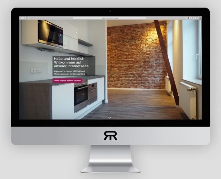 ProTrend Modernisierung - Webdesign