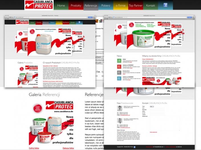 Casublanca-ProTec Website