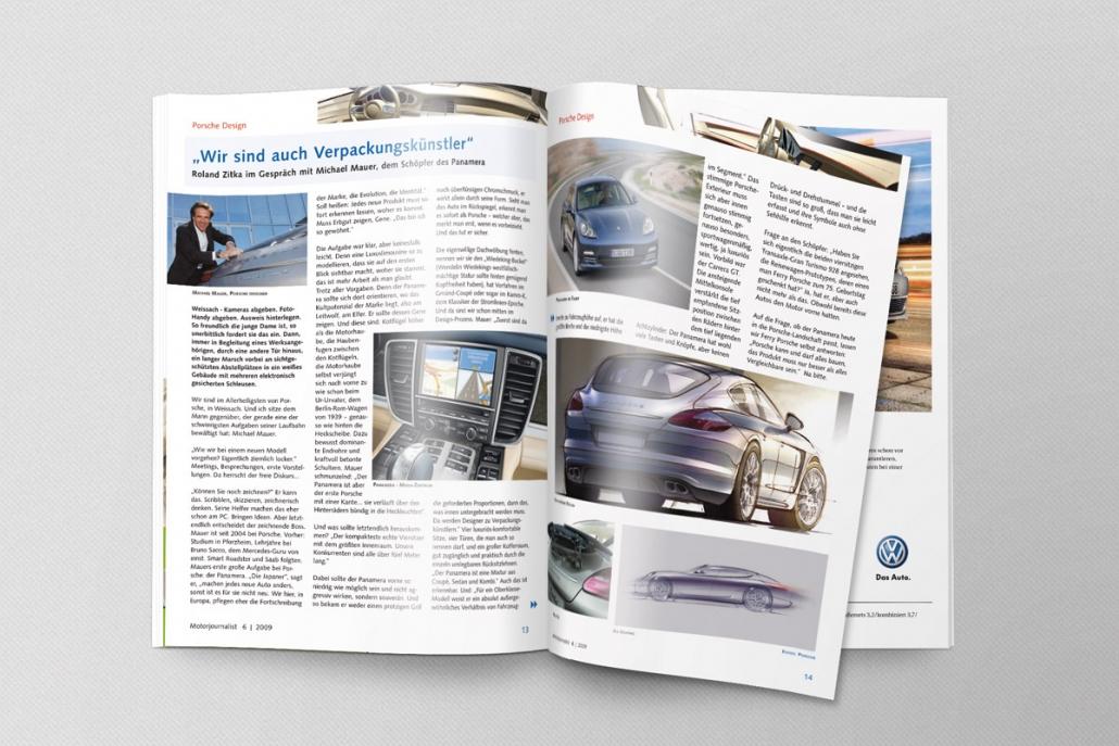 MotorJournalist Magazin Innenteil