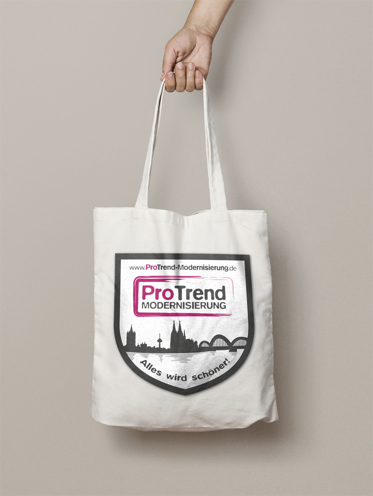 ProTrend Modernisierung Stofftasche