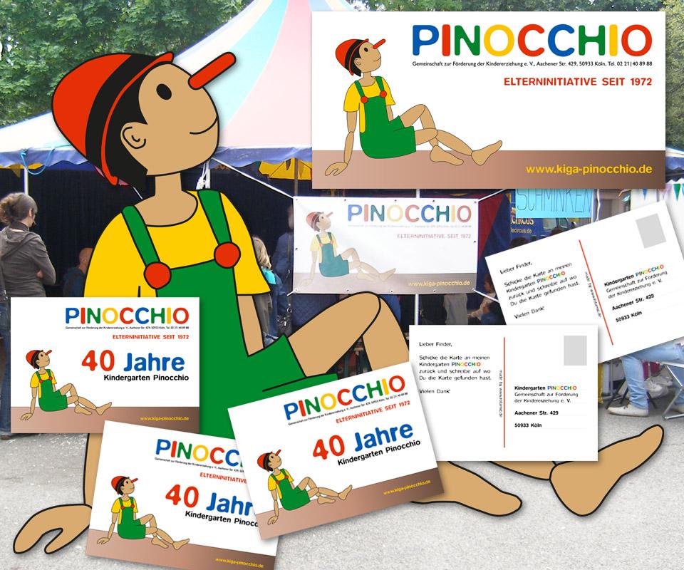 Kindergarten-Pinocchio 40Jahre