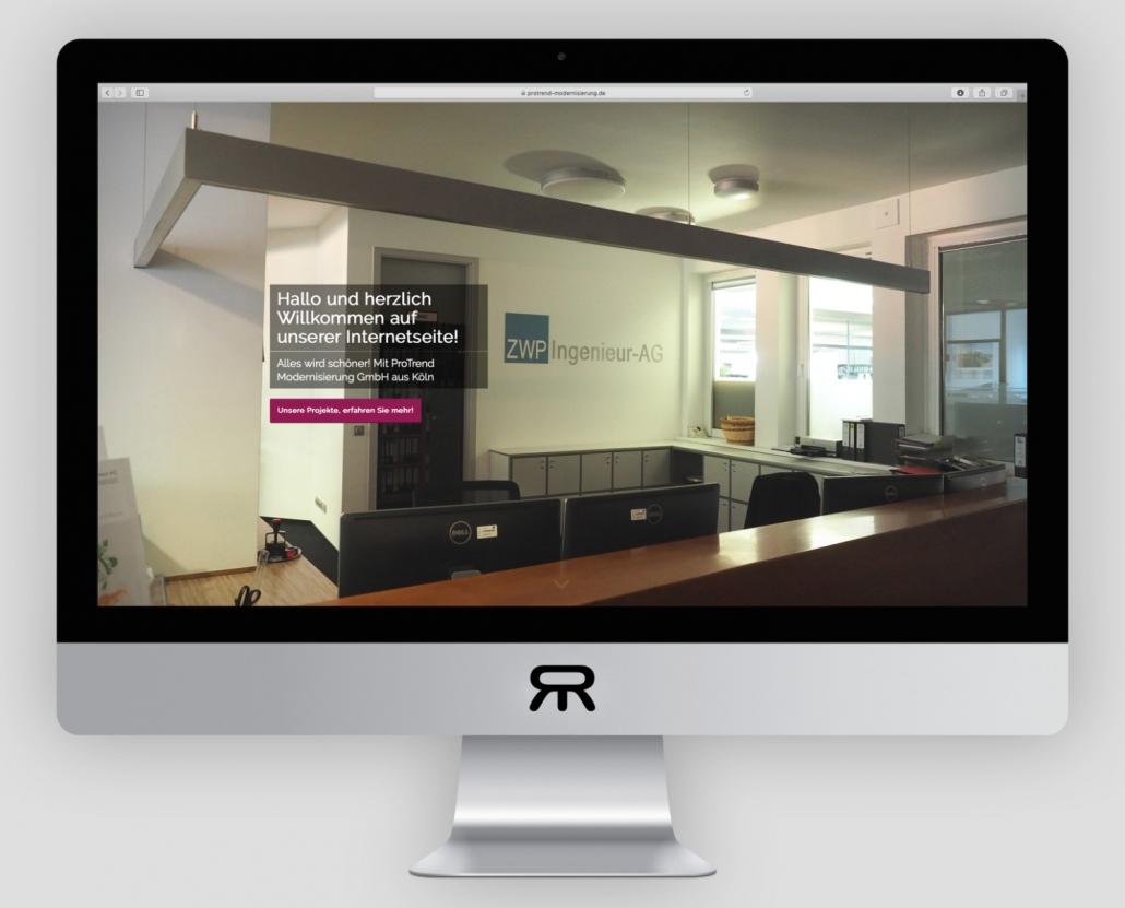 ProTrend Modernisierung GmbH - Webdesign2