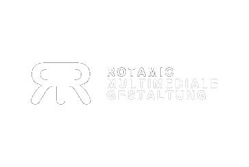 Rotamic Logo Schrift white