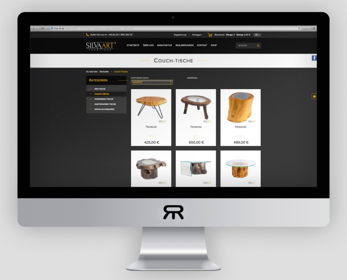 SILVAART Furniture Shop Bilder