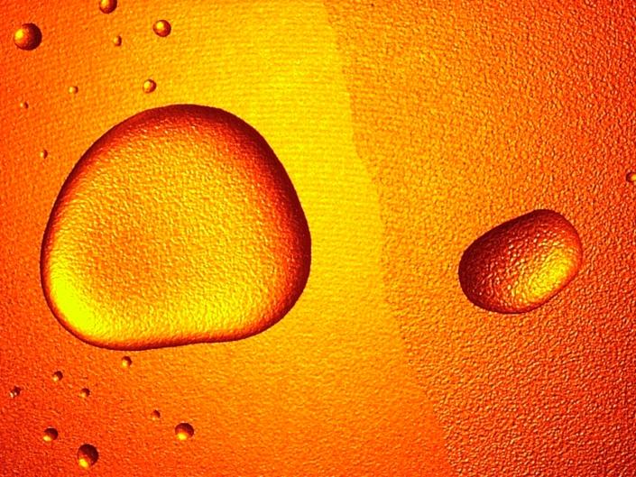 RM-WATER DROPS Orange 2003 B4