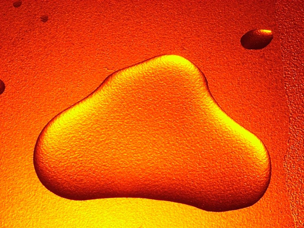 RM-WATER DROPS Orange 2003 B5